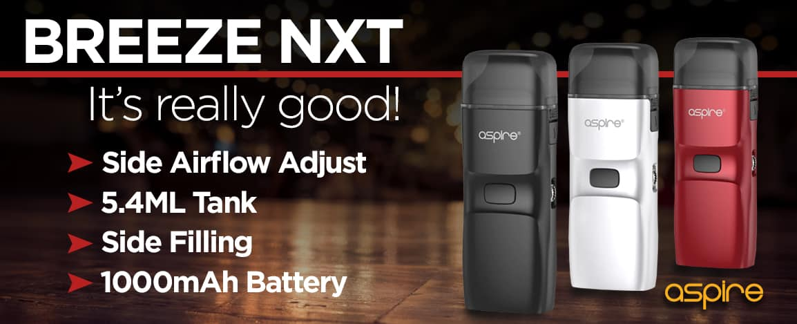 Aspire Breeze NXT Canada