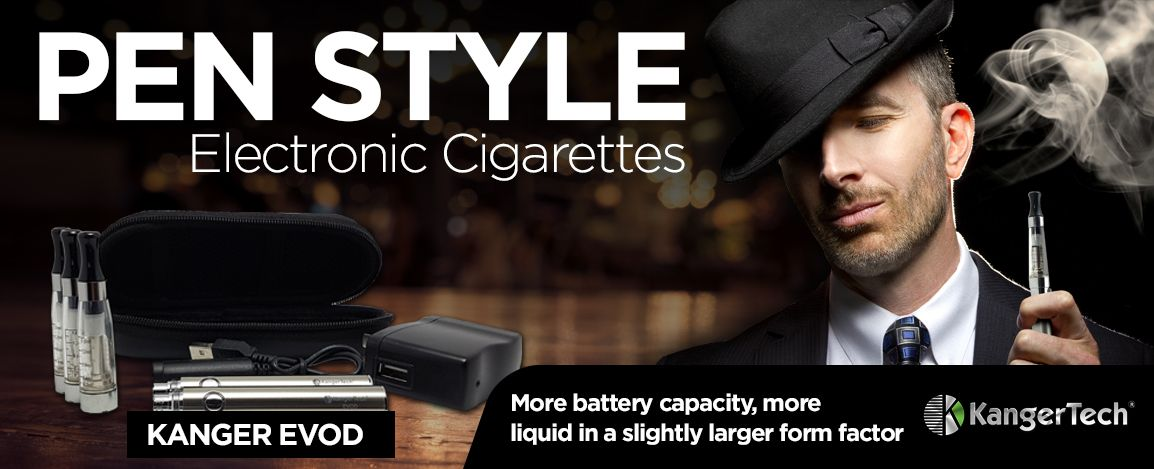 Pen Style Vape Kits from Kanger