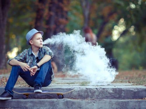 NO EVIDENCE THAT YOUTH VAPING IS A GATEWAY TO SMOKING TOBACCO CIGARETTES