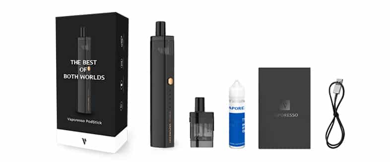 Vaporesso Podstick - Whats in the Box