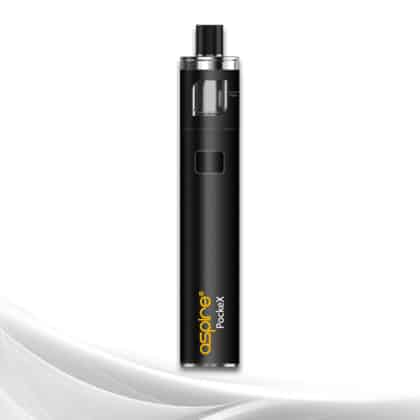 Aspire PockeX Pocket AIO (All In One) Vaping Starter Kit (Black)